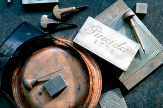 pineider hand engraving tools