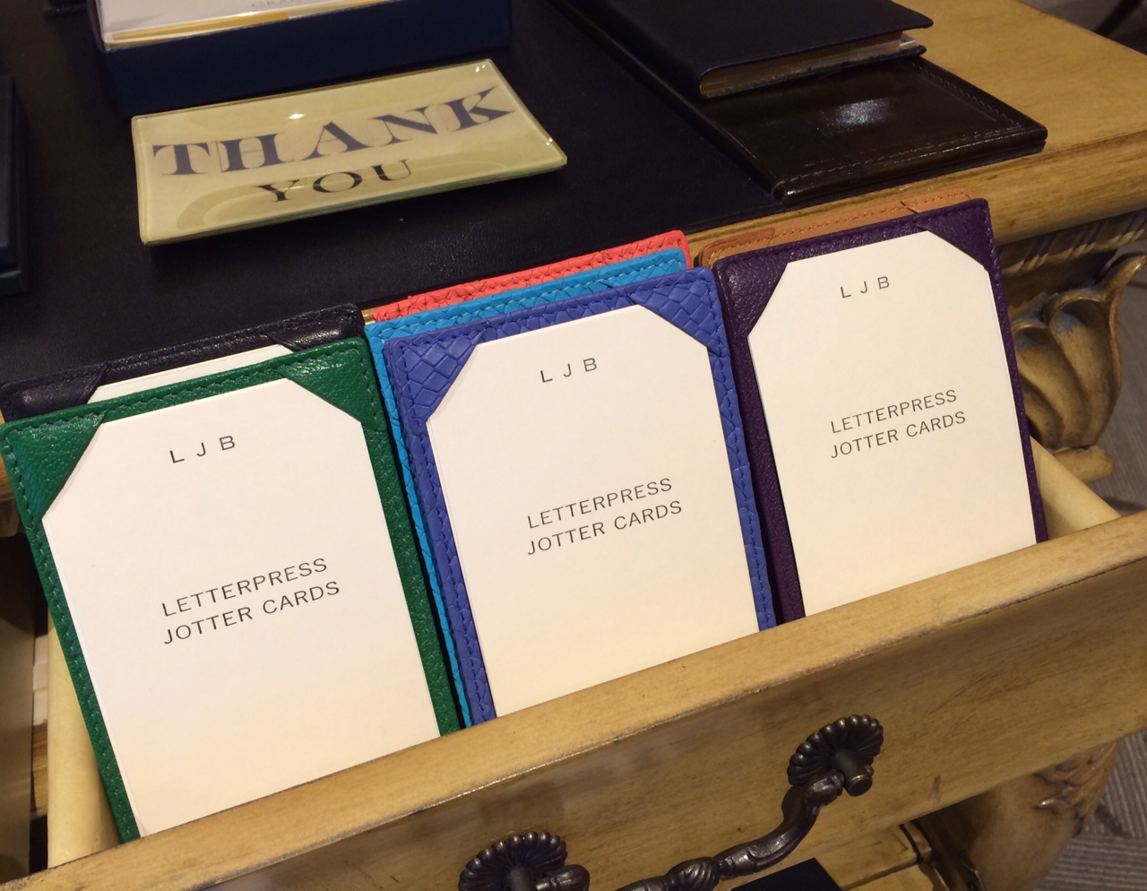 We're a small stationery store in historic downtown Barrington.  We've select some great stationery, journals, invitations and fine writing writing instruments for everyone.