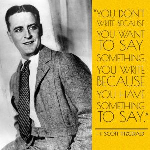 Young writers most always have something to say.  It's time to let them say it!