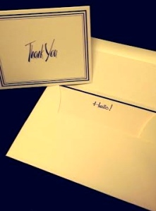 Our Embossed Graphics stationary is kid-friendly and ready for practice hand-writing thank you cards and letters