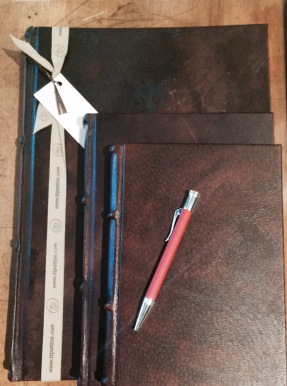 From Italian leather, to German writing instruments, you'll find something that suits your journaling fancy just perfectly here.